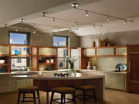 Track Lighting For Kitchen Kitchen Track Lighting Fixtures Home Lighting Design Ideas
