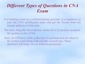 cna written test