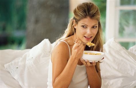 eating cereal before bed fat burning foods to eat before bed