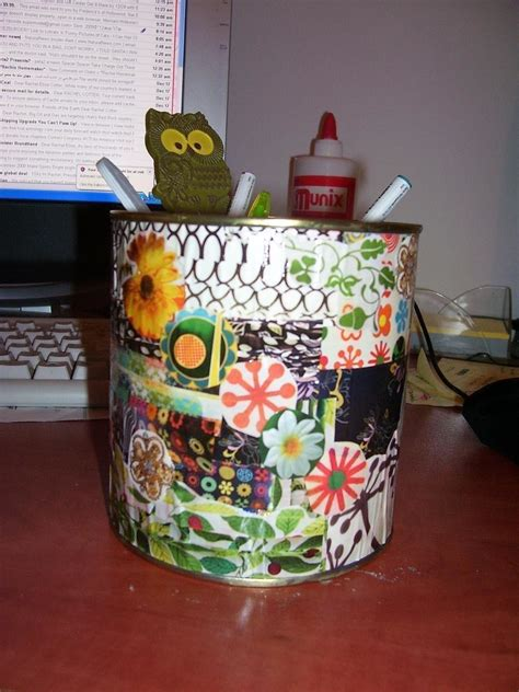 Decoupage Supplies - decoupaged supplies can 183 a decoupage pot 183 decoupage on