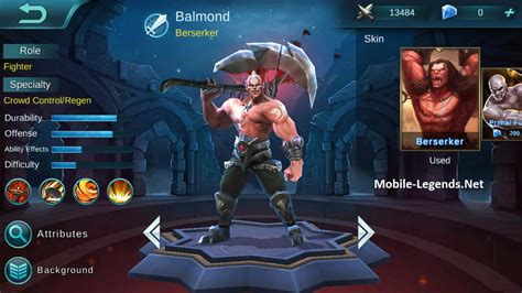 Mobile Legends Balmond 2 balmond ad tanky build mobile legends