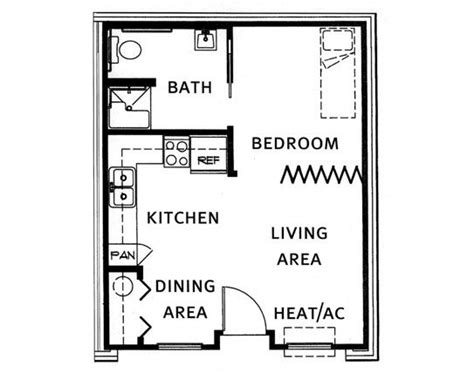 shop apartment floor plans garage conversion granny flat annex extension