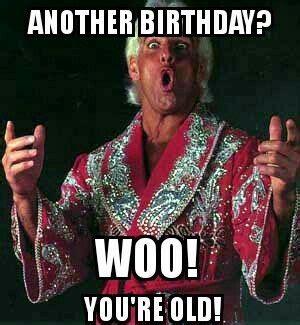 Ric Flair Birthday Card