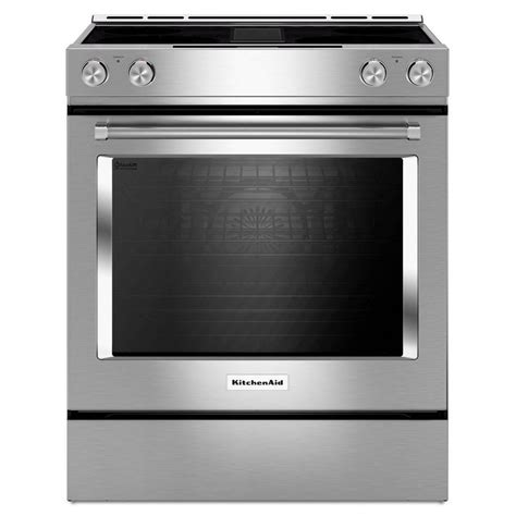 Convection Cooktop Kseg950ess Kitchenaid 6 4 Cu Ft Slide In Downdraft
