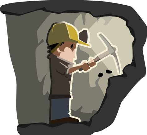 Mining Clipart coal miner clip at clker vector clip royalty free domain