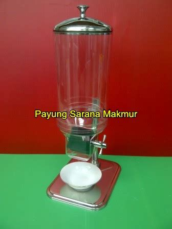 Dispenser Beling cereal dispenser sunnex payung sarana makmur