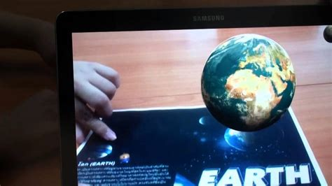 Reality 3d planets 3d augmented reality