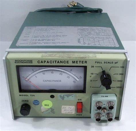 capacitance meter boonton boonton capacitance meters test equipment connection si es de comprar venta o reparar test