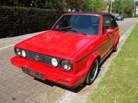 Auto Golf 1 Cabrio by Vw Golf 1 Cabriolet Sportline 1991 Mk1 Eu