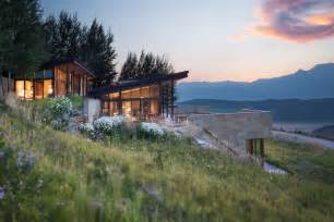 homes for in wyoming this modern jackson wyoming home channels frank