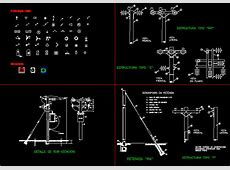 Street Lights DWG Block for AutoCAD – Designs CAD Electrical Transformer Calculations