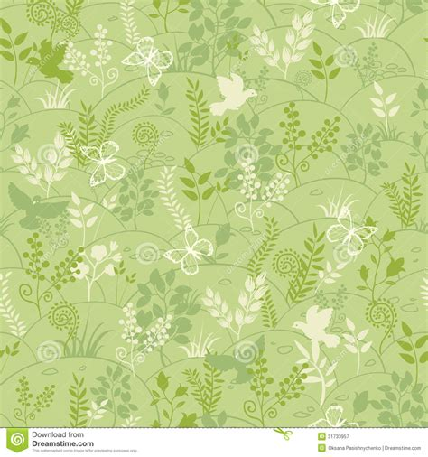seamless pattern nature green nature seamless pattern background royalty free