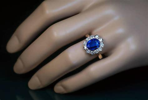 antique diamond kyanite gold engagement ring  stdibs