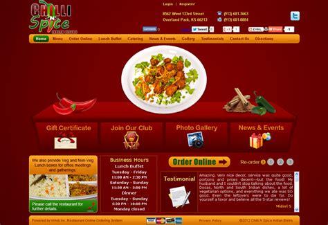 Restaurant E Commerce Website Our Clients Restaurant Online Ordering System Indian Restaurant Website Templates