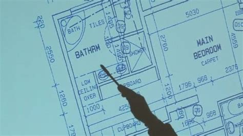 Court Shown Floor Plan Of Oscar Pistorius House Itv News Oscar Pistorius House Plan