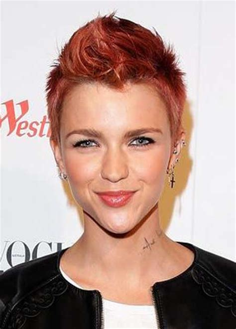 ruby rose hairstyles 2013 trendy celebrity hairstyles short hairstyles 2017