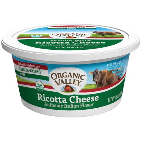 organic valley cottage cheese organic valley ricotta cheese from plum market instacart