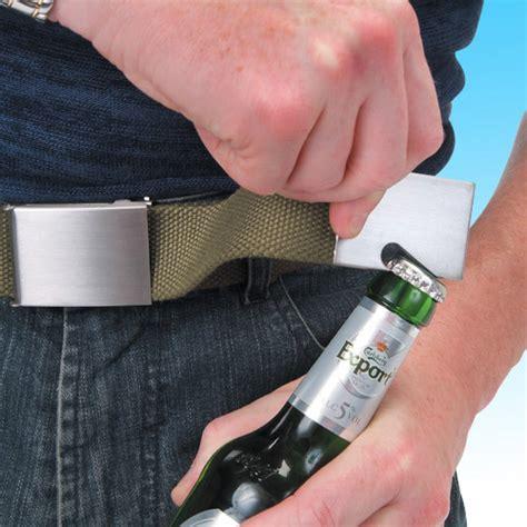 Belt Bottle Opener by Belt Bottle Opener The Awesomer