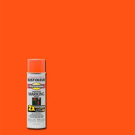 neon paint colors home depot rust oleum professional 15 oz 2x fluorescent orange