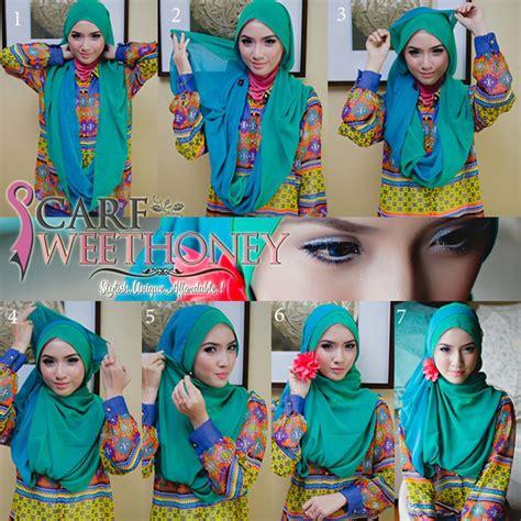 tutorial jilbab wisuda silang how to wear hijab step by step 2min hijabiworld