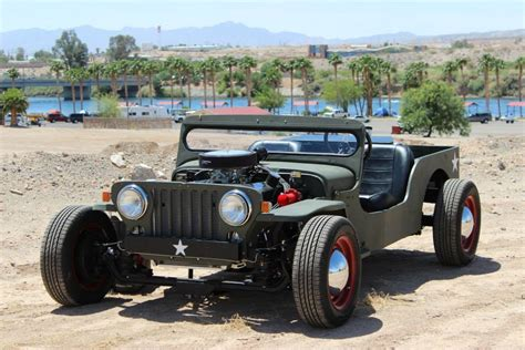Willys Jeep Rat Rod Turbo Jeep Willys Is A Rat Rod You Should Be Afraid