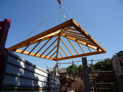tetto a padiglione progetto legno roma