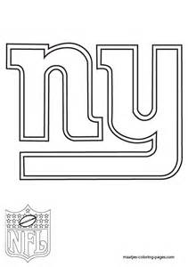 New York Giants Logo Coloring Pages Sketch Page sketch template