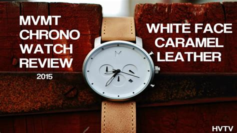 Hd Leather Chrono mvmt watches chrono white caramel review 2015 hd