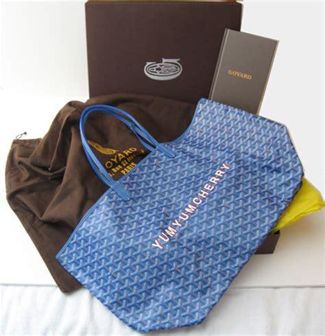 goyard tote bags personalized goyard personalized customization library purseforum