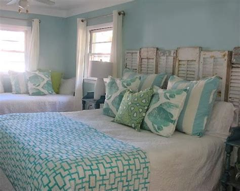 Beachy Headboard Ideas by House Of Turquoise Coslick