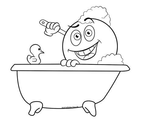 badewanne comic die seite ausmalbilder free de enthaelt ausmalbilder mit
