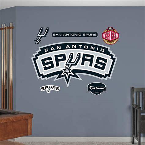 Spurs Decorations san antonio spurs logo wall decal shop fathead 174 for san