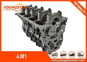 Isuzu 4jb1 Parts Isuzu 4jb1 Diesel Engine Parts Cylinder Block For Isuzu