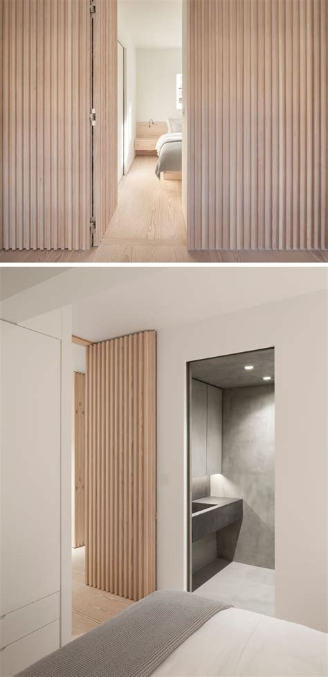 interior design ideas  wood batten wall