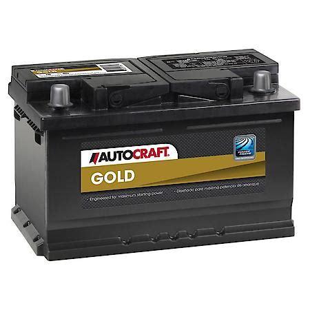 AutoCraft Gold Battery, Group Size T6 T6: Advance Auto Parts