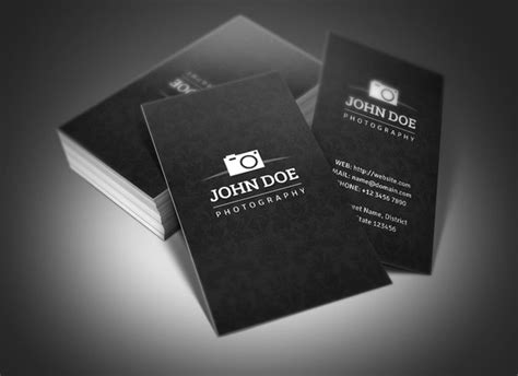 portrait business card template photography business card business card templates on