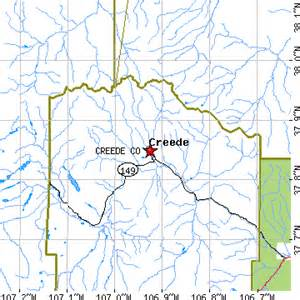 creede colorado map colorado springs zip code map