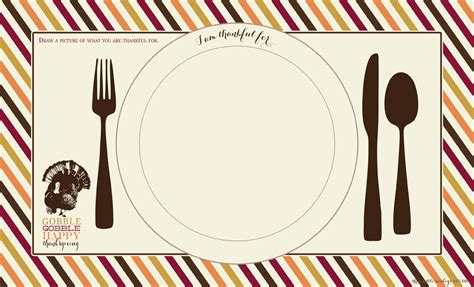 placemat template 7 best images of turkey thanksgiving placemats printable