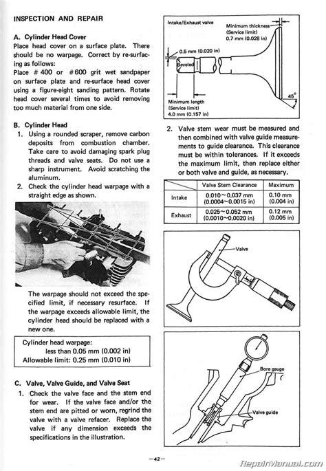 1980 – 1983 Yamaha XJ650 Maxim Motorcycle Service Manual