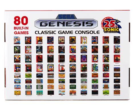 sega genesis classic console with 80 built in catch au sega genesis classic console w 80