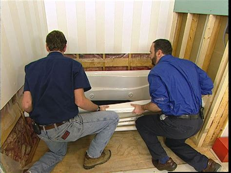 taking out bathtub and installing shower how to prepare a bathroom before installing a whirlpool