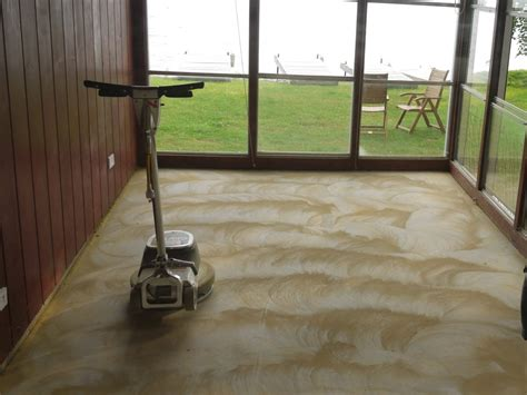 Removing Carpet Adhesive From Concrete Floor by How To Level A Floor Cabin Diy