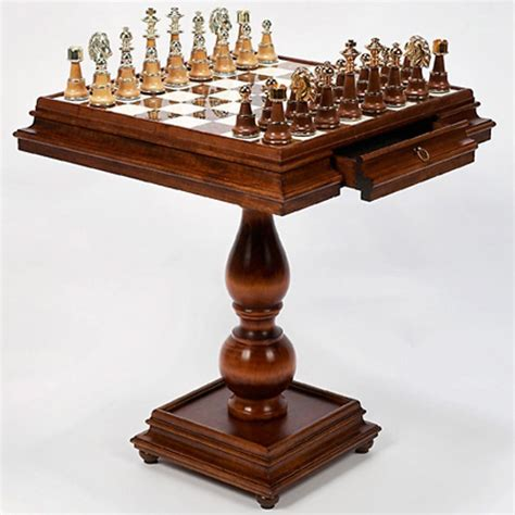chess table amazon chess table and chairs furniture home game tables