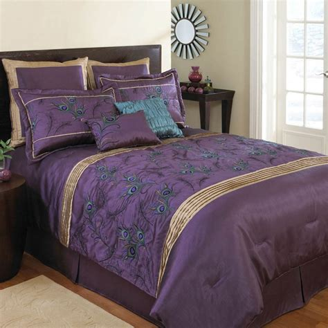 purple and gold bedding 10 images about purple comforter sets queen sized on