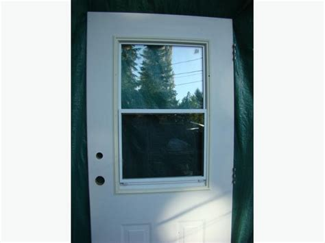 Metal Clad 36 Inch Exterior Door With Frame Cbell River Steel Clad Exterior Doors