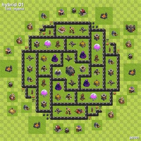 layout coc com th7 base layout google search clash of clans