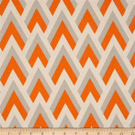 Kilim Upholstery Fabric Premier Prints Zapp Mandarin Natural Discount Designer
