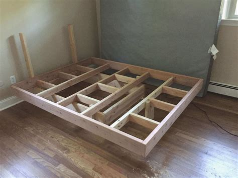 floating platform bed frame as well as stunning floating platform bed plans