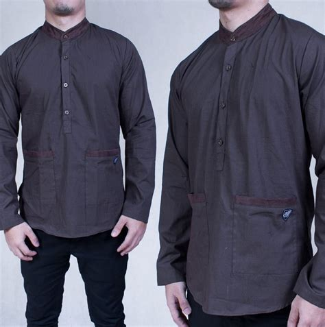 Baju Muslim Kemeja Koko Gks06 baju kemeja koko model masa kini 2017 2018 baju terbaru baju terbaru
