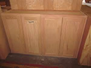 Stain Unfinished Kitchen Cabinets by 48 Quot Inch All Wood Unfinished Stain Grade Oak Kitchen Wall